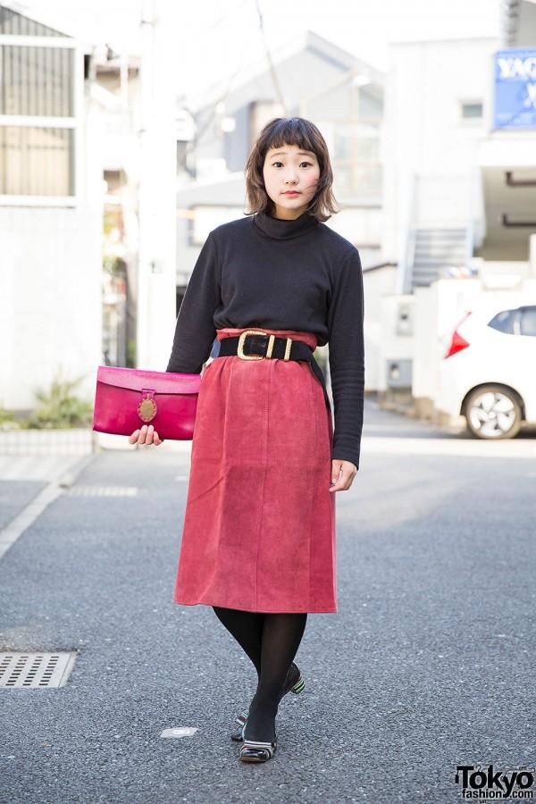 Ragla Magla Staffer In Vintage Inspired Harajuku Street Style