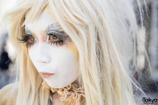 Minori with Shironuri Makeup