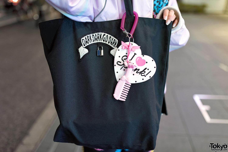 Harajuku Girl In Fuzzy Hat W/ Galaxxxy, Milkboy, Spank