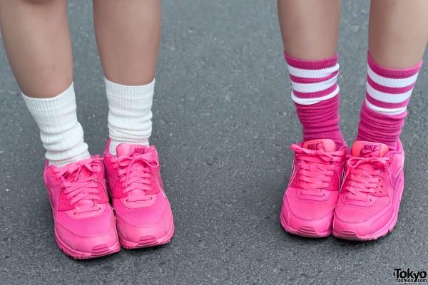 Pink Nike Air Max 90 Sneakers