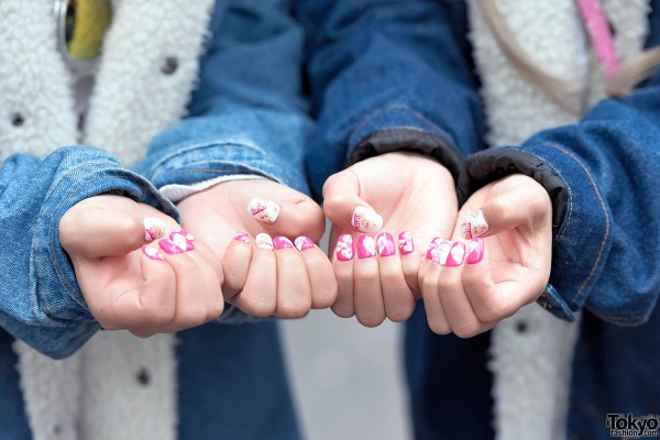 Barbie Nail Art in Shibuya