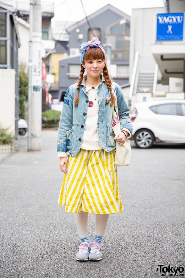 Hanjiro Jacket & POU DOU DOU Skirt