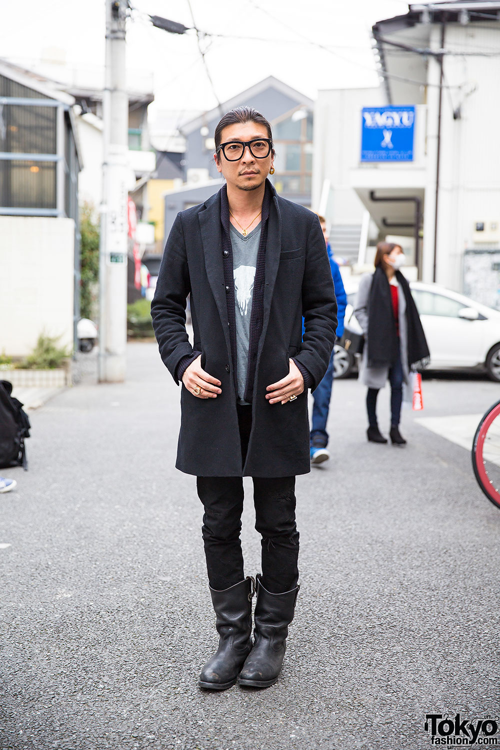 Harajuku Guy in High-Light Cavalet, Restir Surf Side, Tom Ford ...