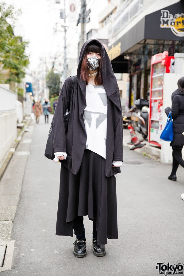 Dark Harajuku Style w/ Plasticzooms x Lillies and Remains Bag & Studded Creepers