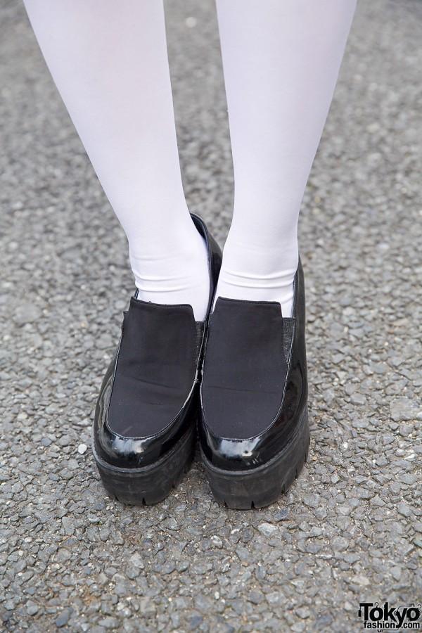 Bubbles Harajuku Platform Shoes