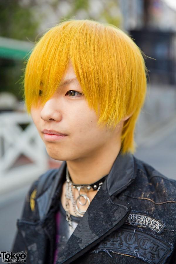 Yellow Haired Harajuku Guy In H Naoto Algonquins Black