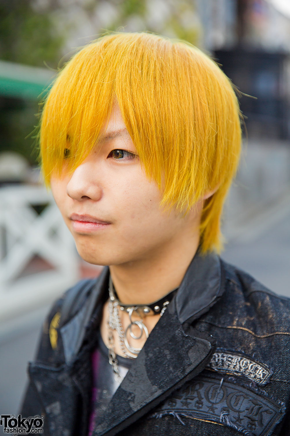 Yellow Haired Harajuku Guy In H Naoto Algonquins Black