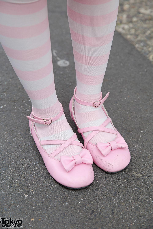 Pink Lolita Fashion In Harajuku W Angelic Pretty Heart