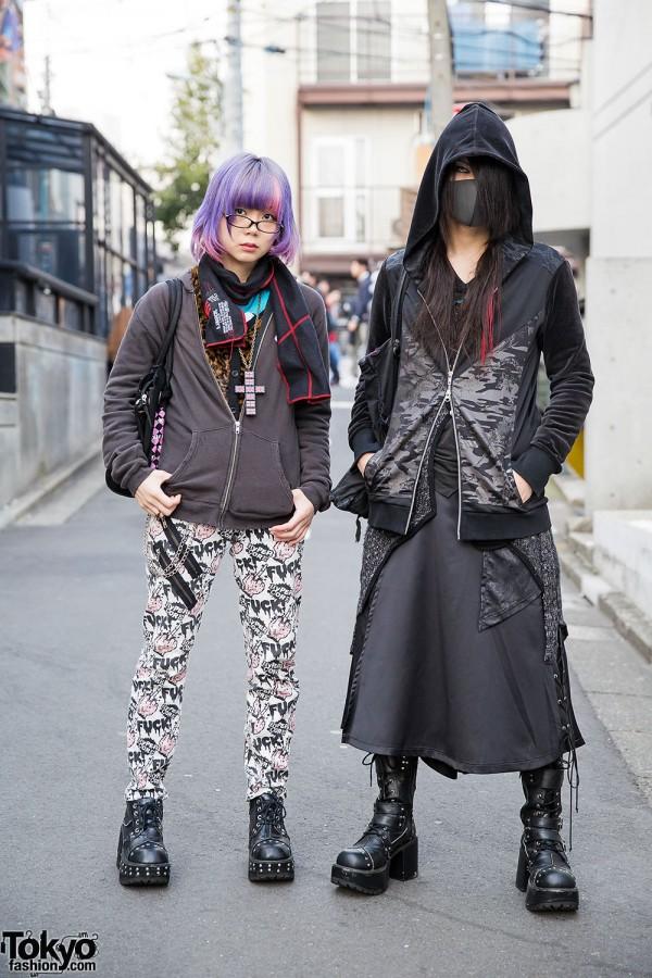 Harajuku Duo in h.NAOTO, Hyper Core, Toxic Star & Yosuke