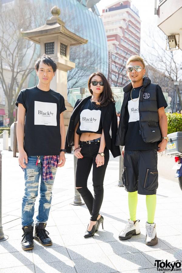 Black by Vanquish Fashion in Harajuku