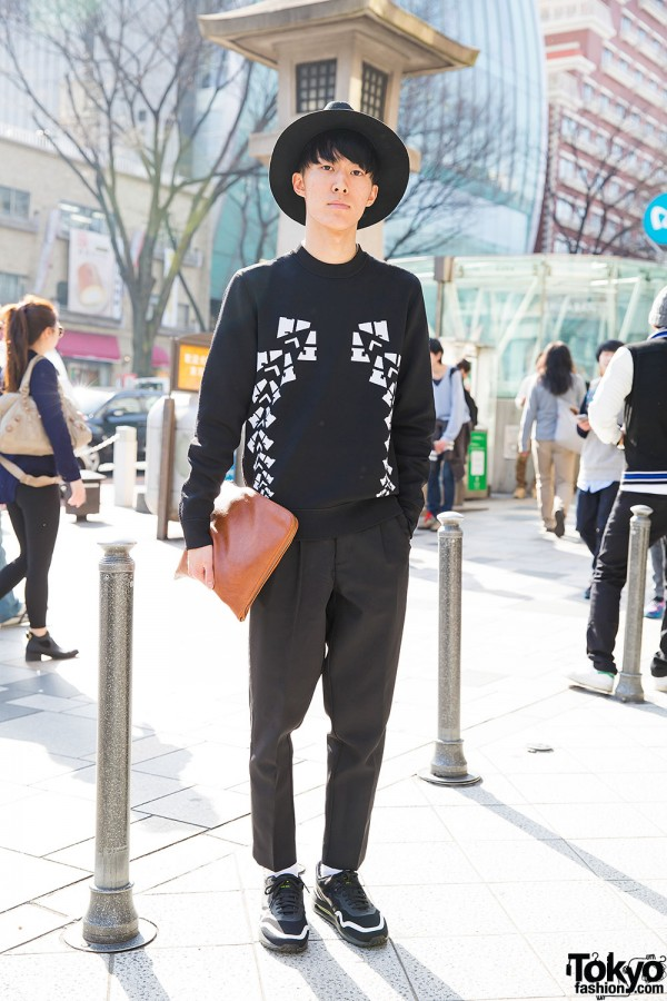Minimalist Outfit In Harajuku W Alexander Wang X H M Rage Blue Nike Air Max