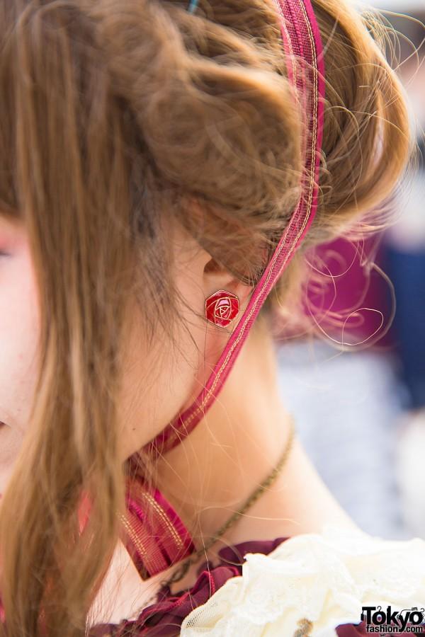 Lolita Rose Earrings