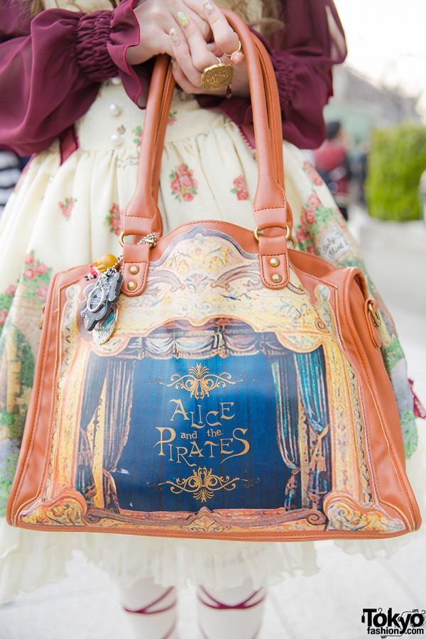 Alice and the Pirates Handbag