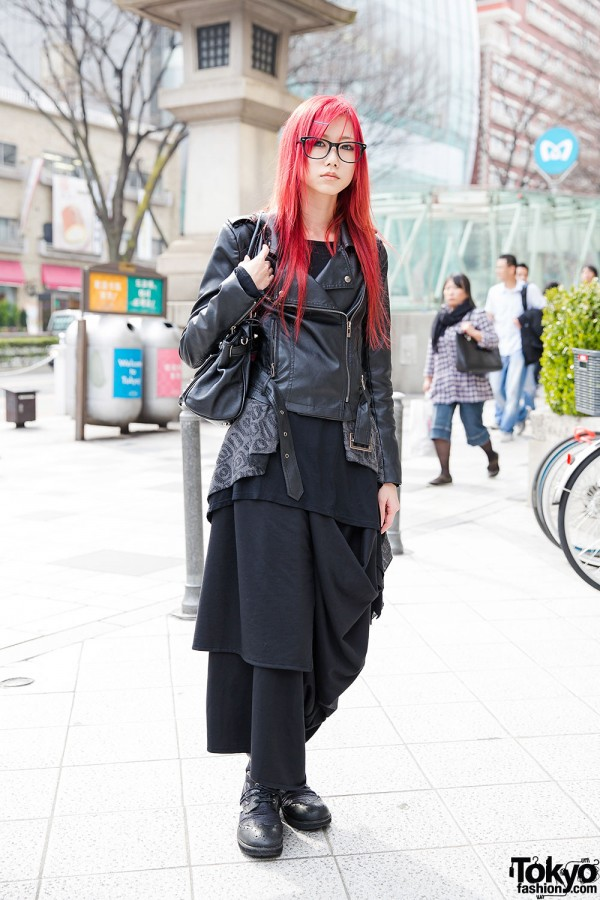 Funky Fruit Skirt & Glimmer Fashion in Harajuku