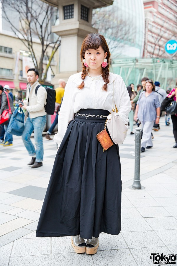 RoseMarie seoir by Syrup Maxi Skirt in Harajuku