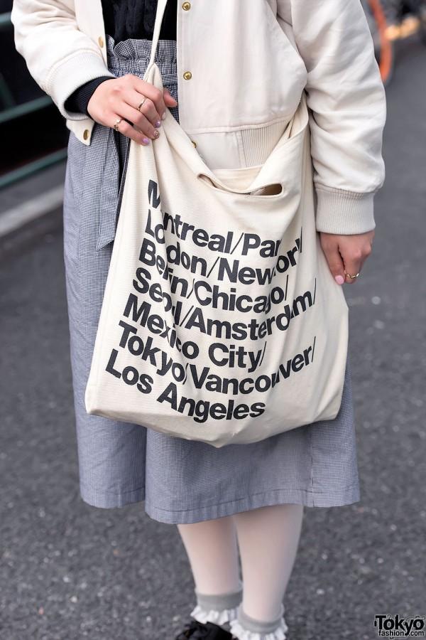 American Apparel Cities Tote Bag