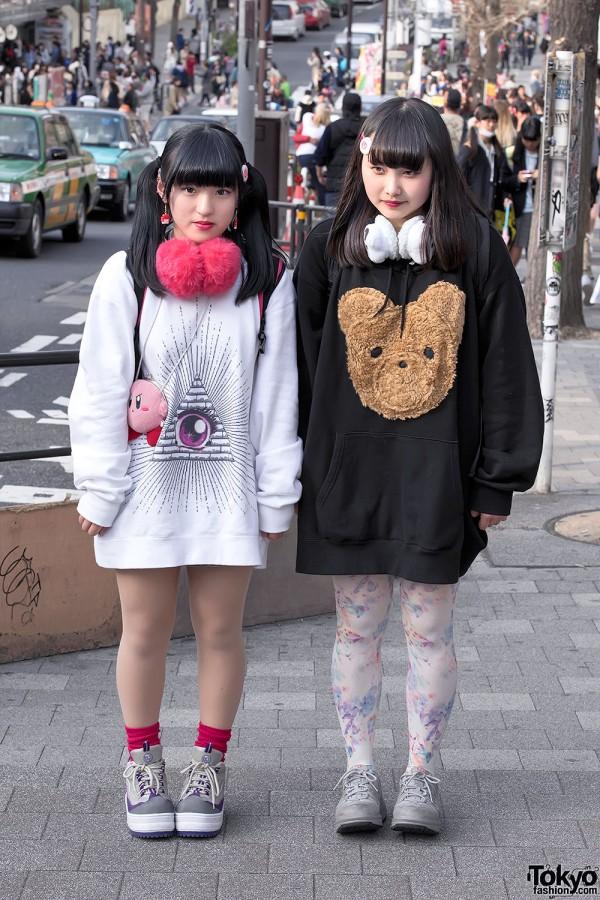Itazura Tokyo Street Styles in Harajuku w/ Decotrand & Kirby