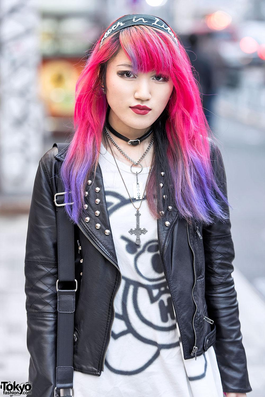 Pink Camo Cross Necklace