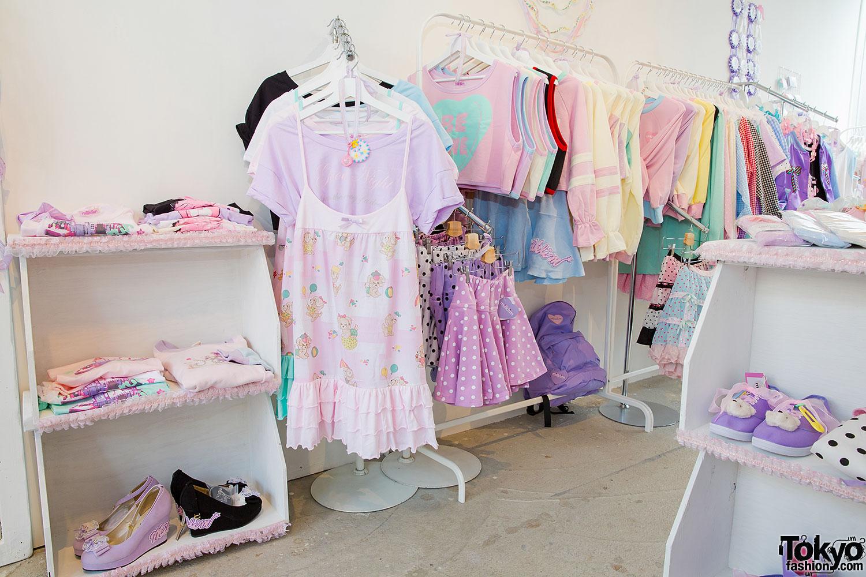 Kawaii japanese clothing store