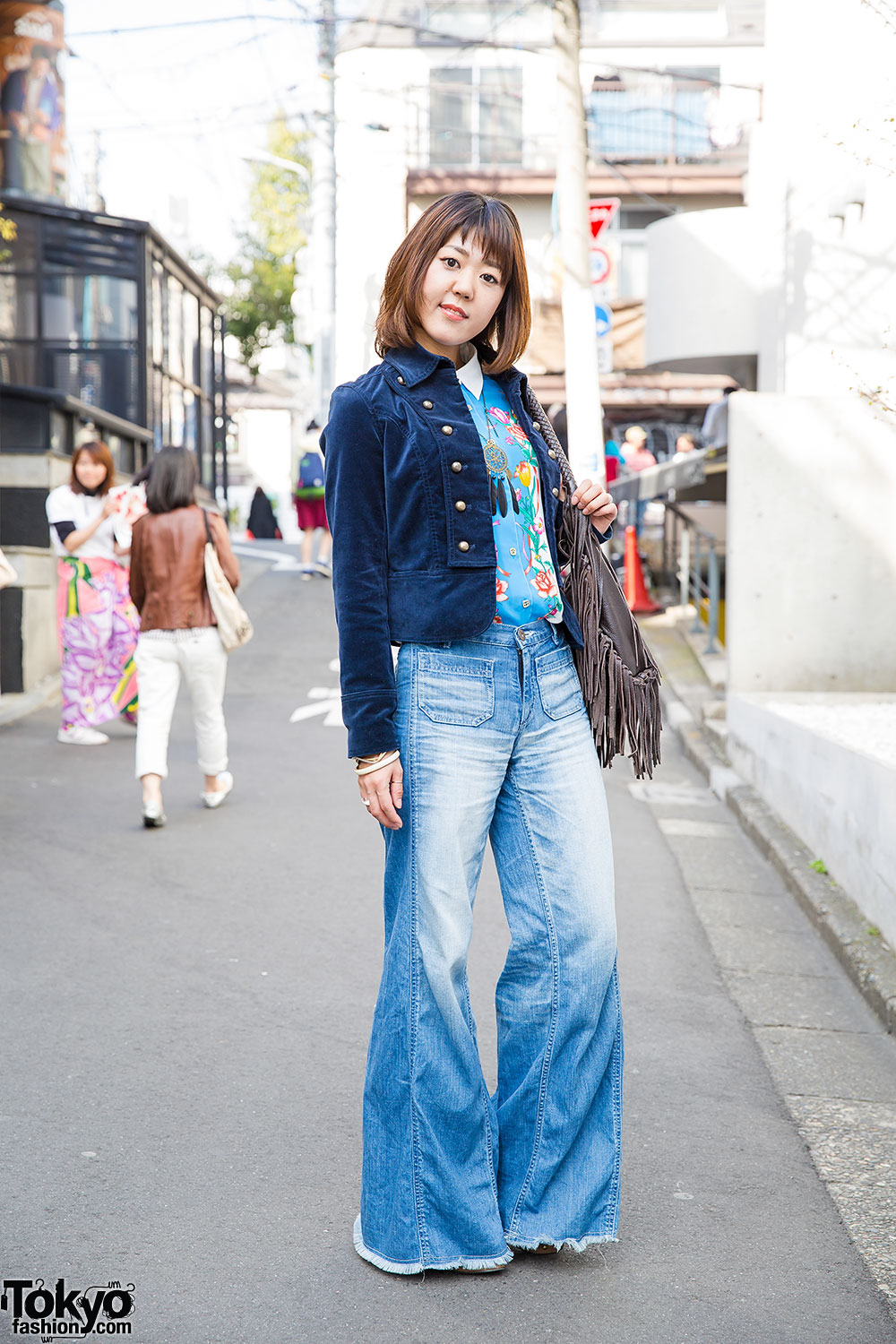 Boho 1970s Style In Harajuku W Vintage Items Grace