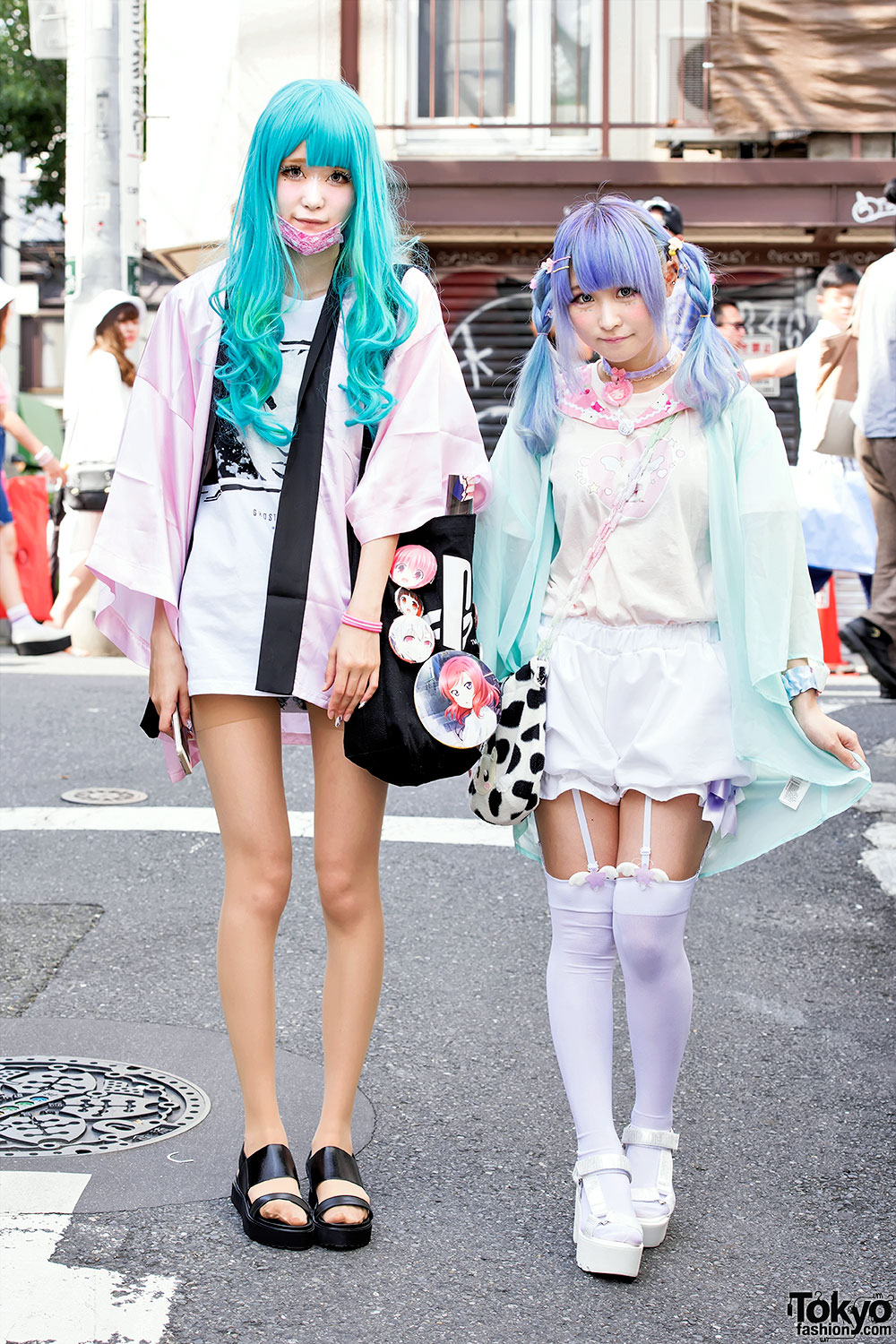 767438da5d50 Harajuku Girls w  Ghost in The Shell