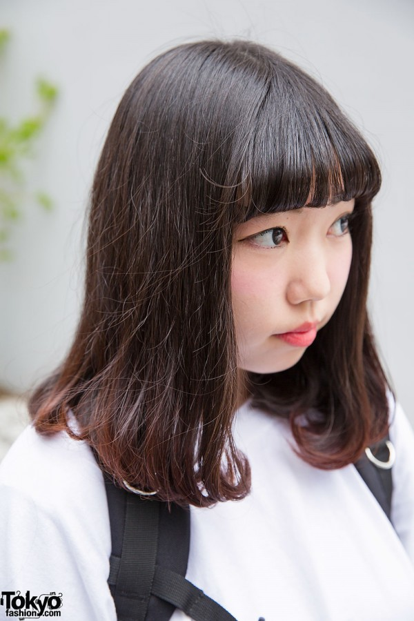 Harajuku Girl with Bangs