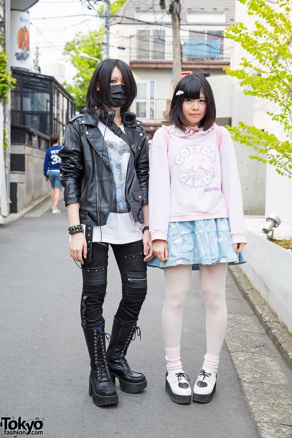 Harajuku Girls in Milklim, Milk Boy & Sex Pot Revenge Fashion