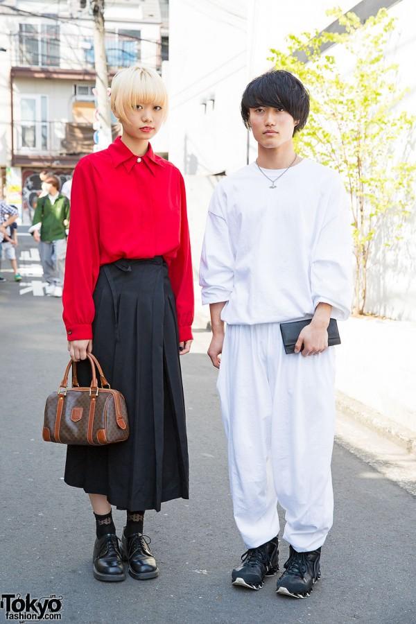 Harajuku Duo in Comme Des Garcons, Celine, Vivienne Westwood & Resale Fashion