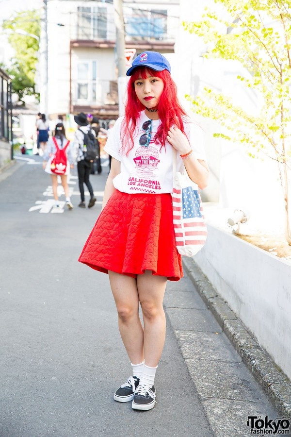 Aymmy in the Batty Girls, G.V.G.V. & Tattoo Necklaces in Harajuku