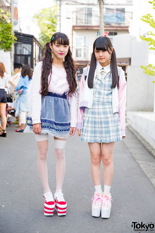 Harajuku Girls in Twin Tails w/ KOKOKim, Bubbles, Swankiss & Liz Lisa