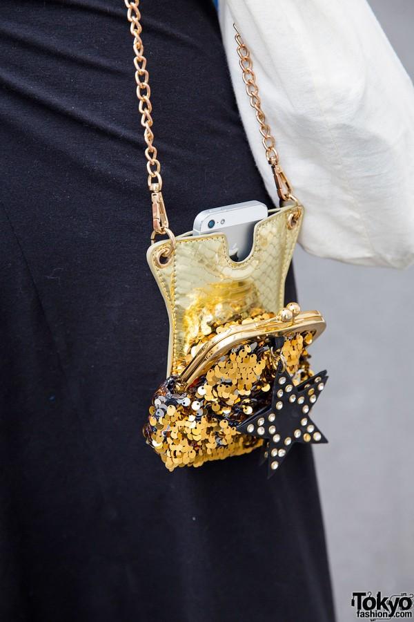 Sequin Phone Clutch