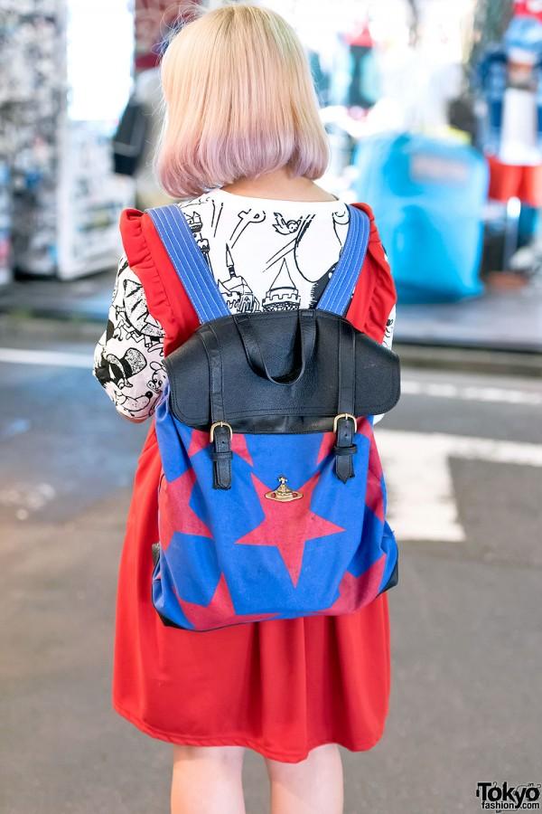Vivienne Westwood Star Backpack
