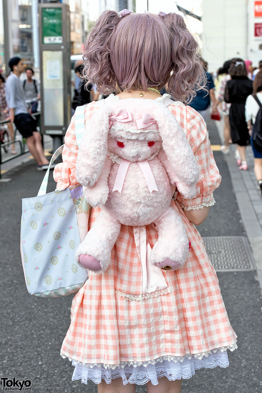 Harajuku Lolitas W Angelic Pretty Gingham Cardcaptor