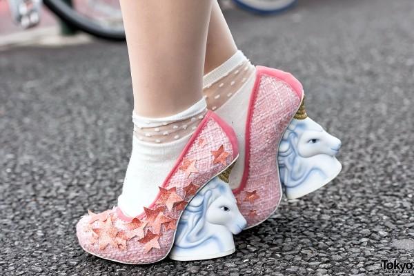 Irregular Choice Unicorn Heels