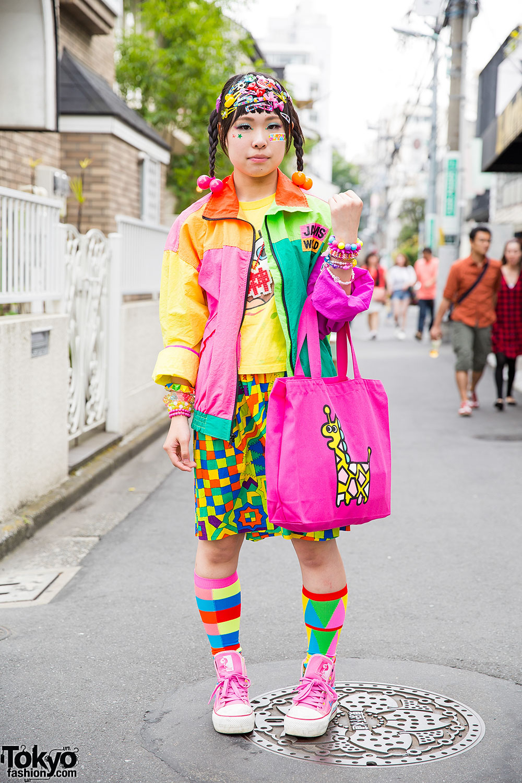 Colorful Harajuku Decora Street Style W/ 6%DOKIDOKI, Jams