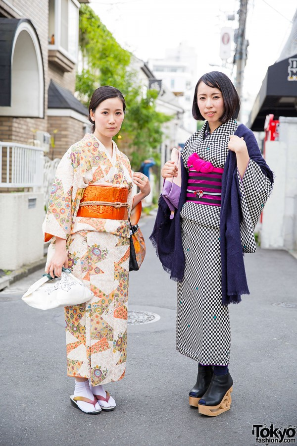 Harajuku Kimono Style w/ Tokyo135° Sandals & Jeffrey Campbell Skate Booties