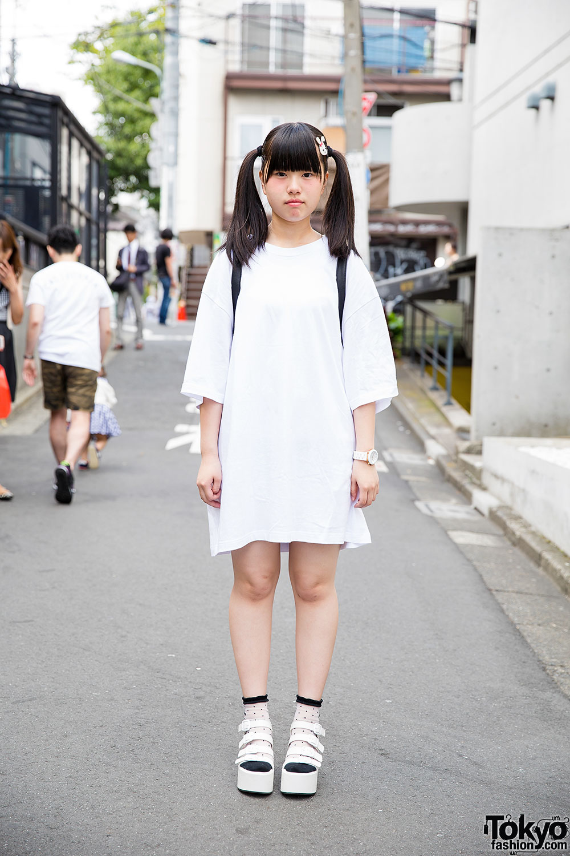 Harajuku Girl W Twin Tails Bunny Hair Clip Wego