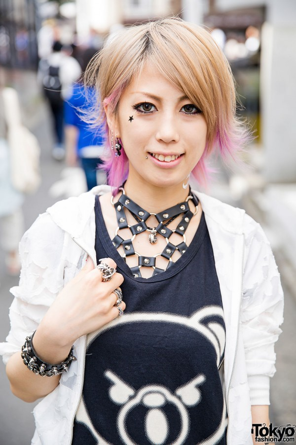 Dip Dye Hair Amp Nail Art W Chrome Hearts Amp Hysteric