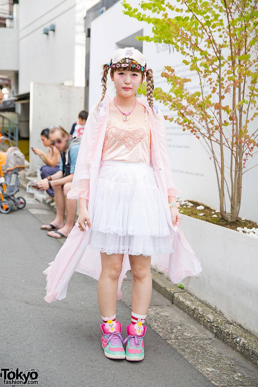 pastel harajuku fashion  decora hair clips w 6dokidoki