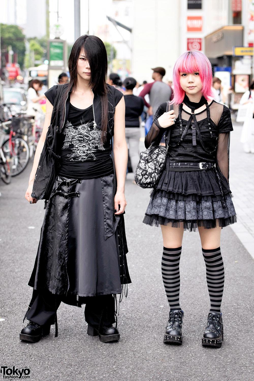 Pink Hair & Gothic Harajuku Fashion w/ h.NAOTO, Yosuke ...