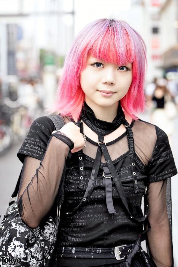 Pink Hair Amp Gothic Harajuku Fashion W H Naoto Yosuke