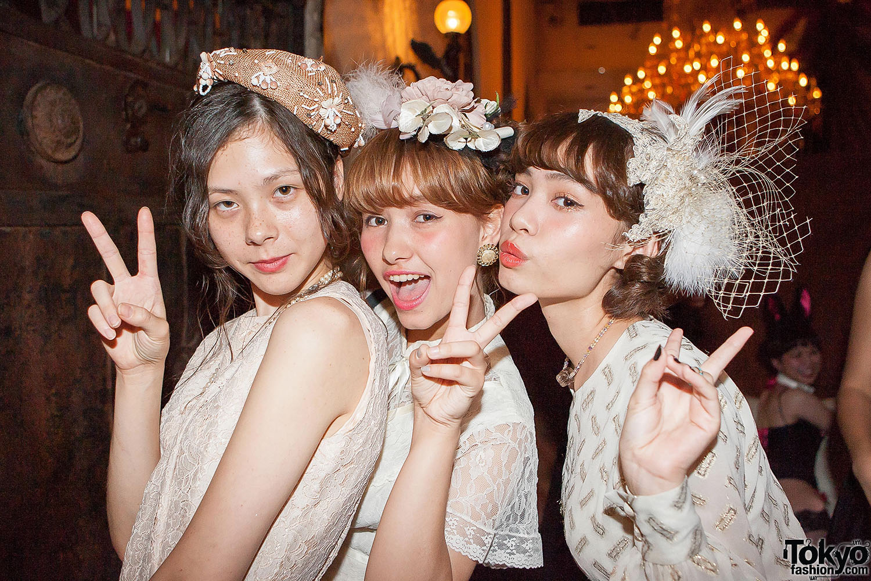 Grimoire Tokyo 7th Anniversary Party – Vintage & Antique Fashion Pictures