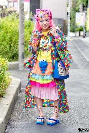 Harajuku Decora Fashion Walk Pictures