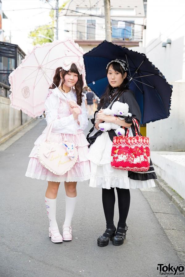 Harajuku Lolita Street Styles w/ Baby, The Stars Shine Bright, Body Line & Swimmer
