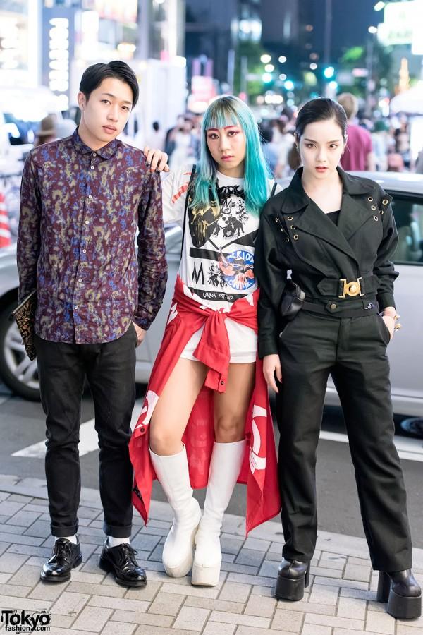 Harajuku Trio in Fashion by DVMVGE, Garter, Phenomenon & Tokyo Bopper