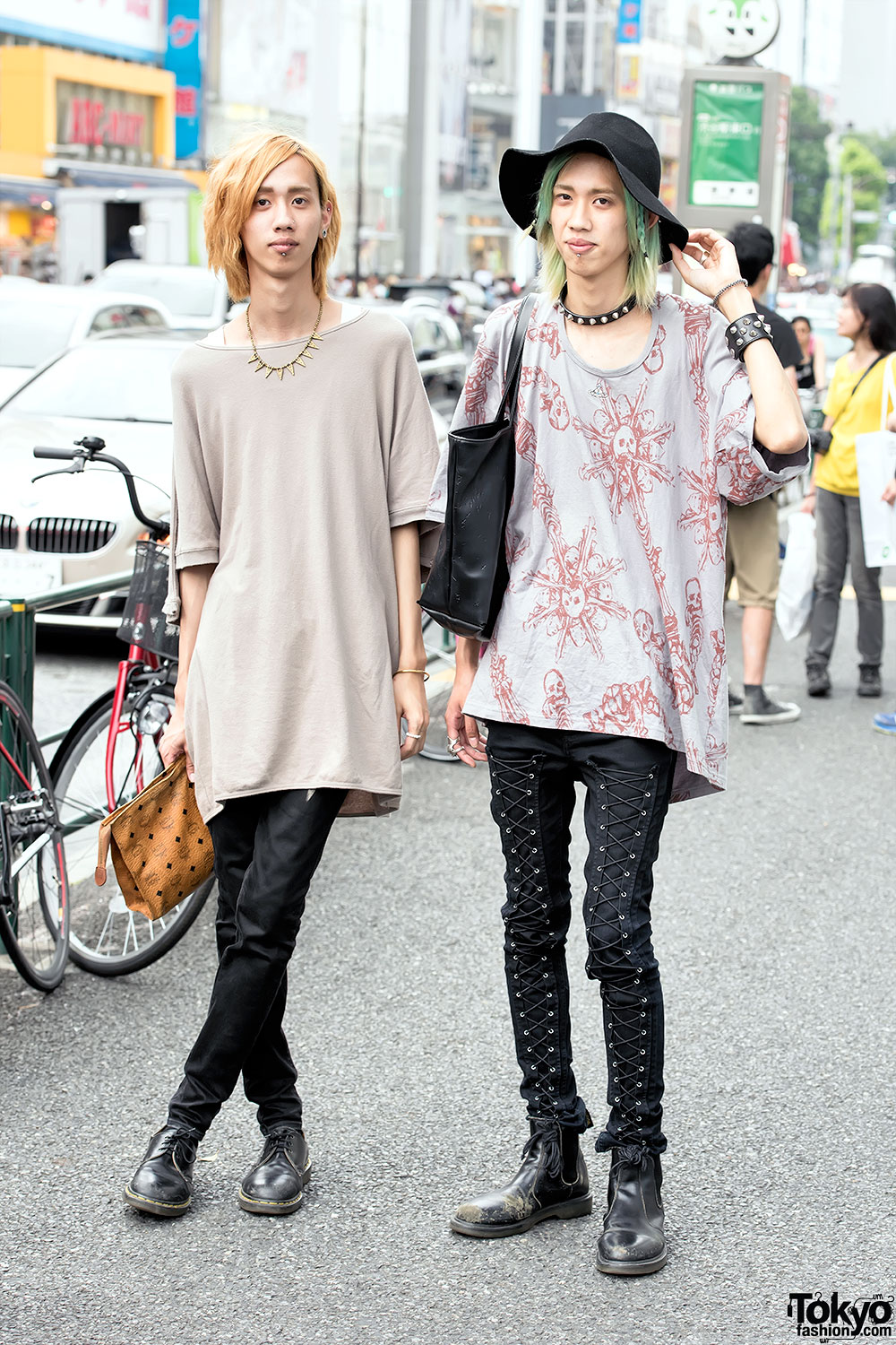 harajuku twins in undercover vivienne westwood dr
