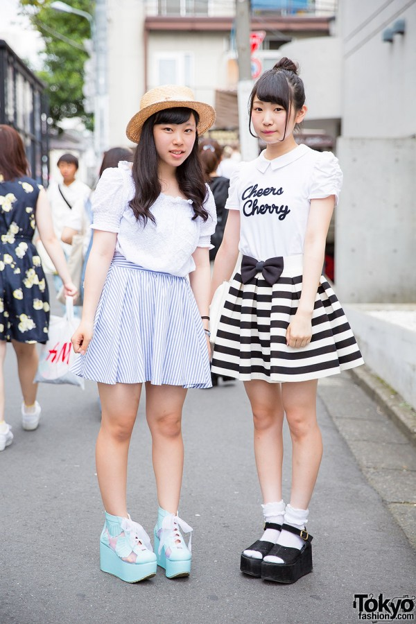 Harajuku Girls in Platform Shoes w/ Miauler Mew, Ingni & One Spo