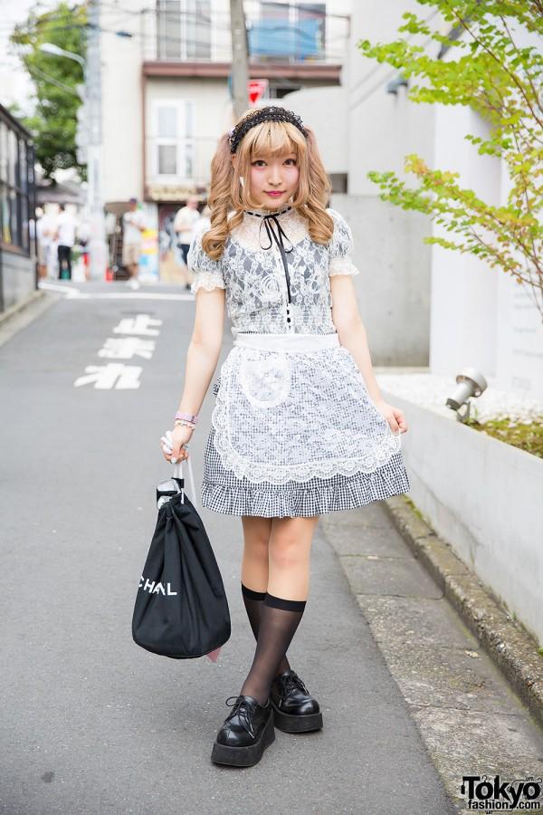 Harajuku Girl w/ Twin Tails & Lace Outfit w/ Honey Cinnamon, Katie, Milk & G2?
