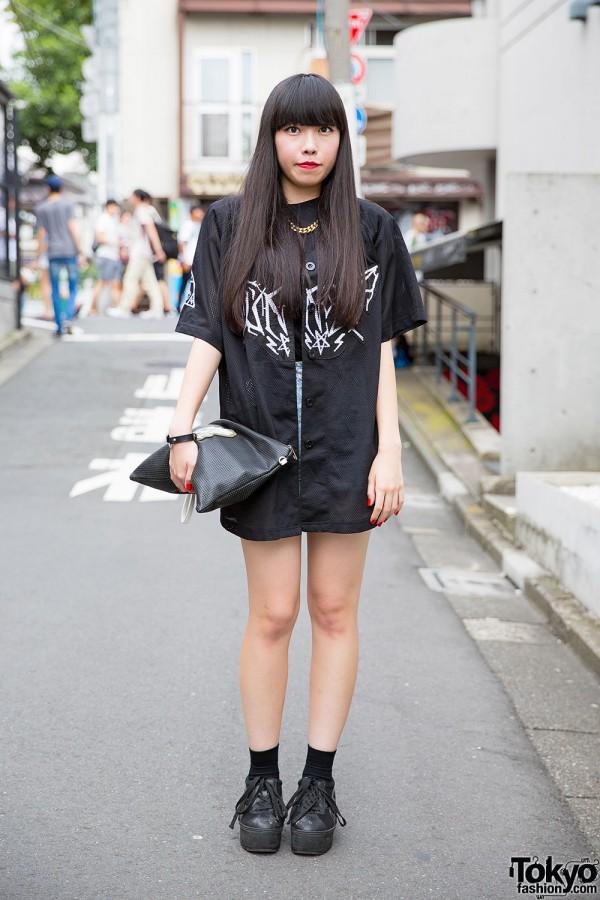 Harajuku Girl in UNIF x Candy Fashion & M.Y.O.B. NYC Clutch