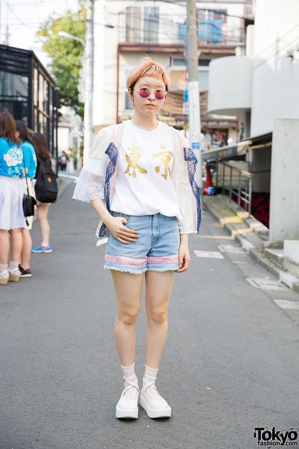 Harajuku Girl in Maice, Punk Cake, Tokyo Bopper & Santa Monica Outfit